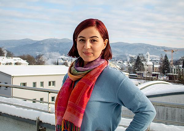 Banafsheh Khani  – Pflichtpraktikantin Umweltingenieurwesen