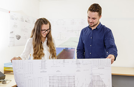 Architectural draughtsman/-woman, branch of structural engineering (m/f/d)