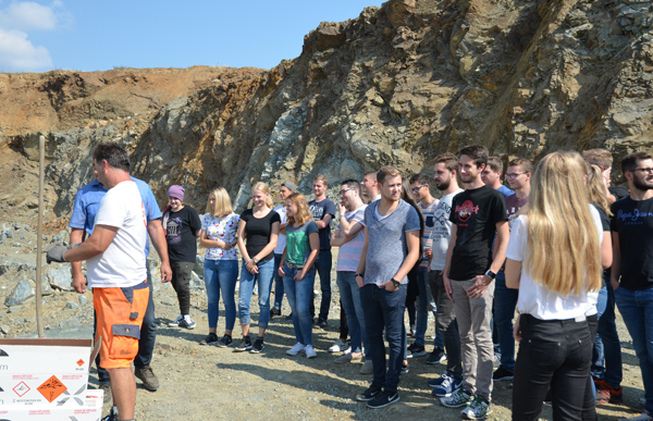 Excursion for apprentices
