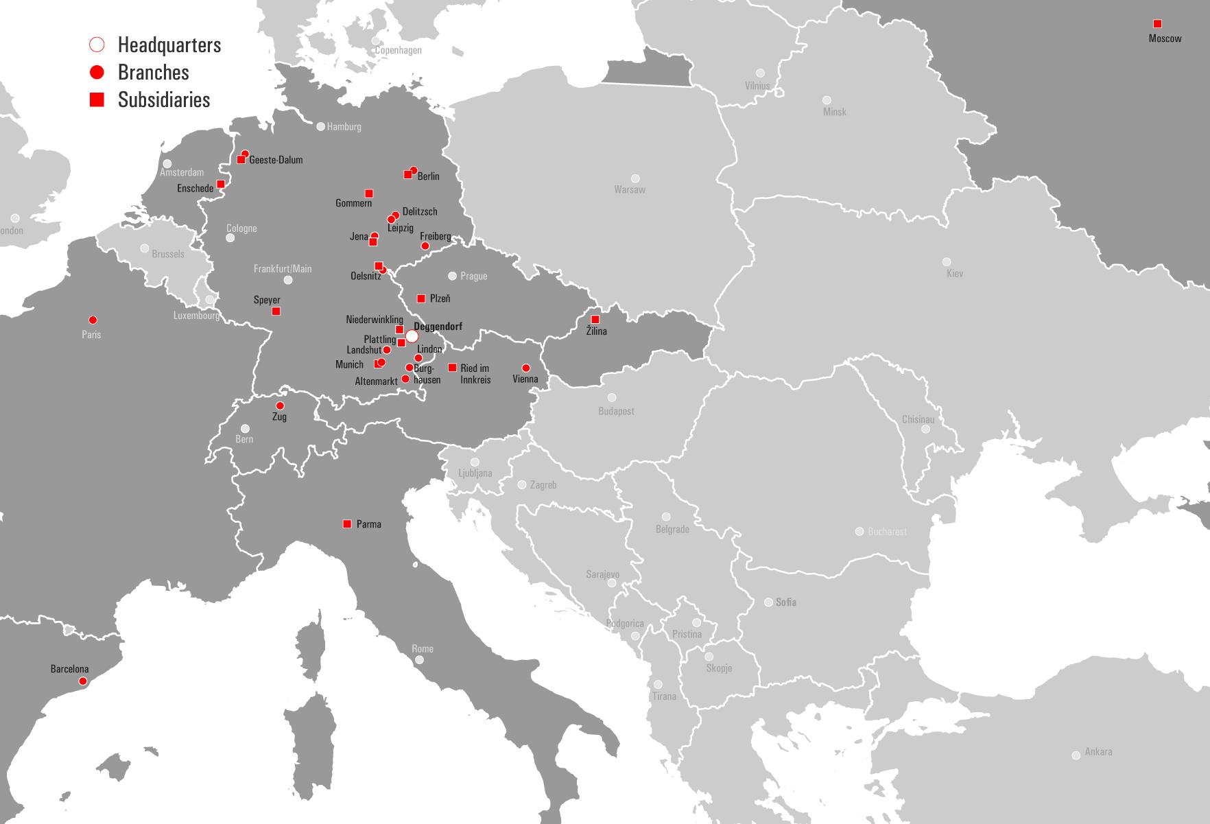 STREICHER Locations